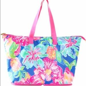 Lilly Pulitzer Getaway Packable Tote Jungle Utopia
